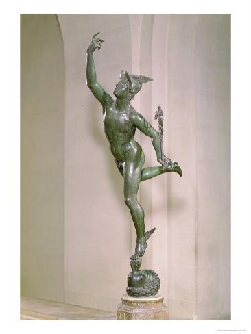 Statue of Mercury, circa 1564 Giclee Print