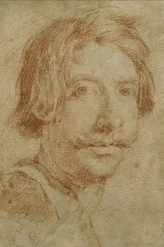 The So-Called Self Portrait, 17th Century Giclee Print