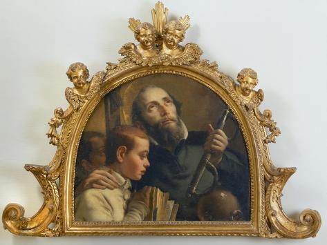 Saint Jerome, c.1760 Lámina giclée