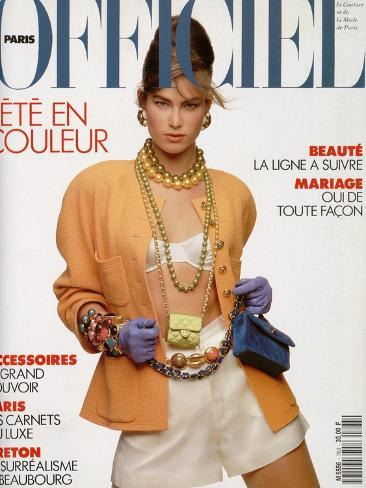 L'Officiel, April-May 1991 - Meghan Habillée Par Chanel Boutique Taidevedos