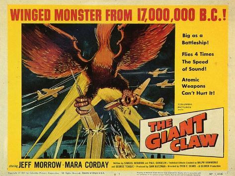 Giant Claw, 1957 Art Print