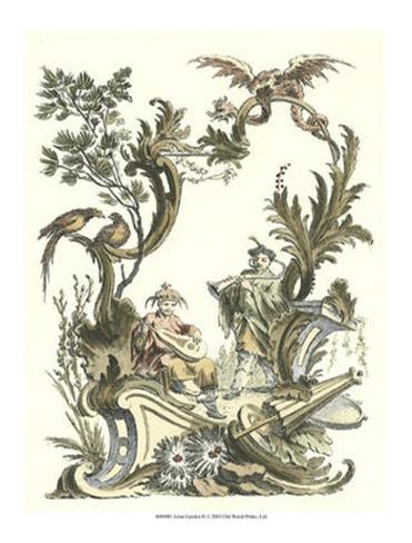 Giardino asiatico II Stampa artistica