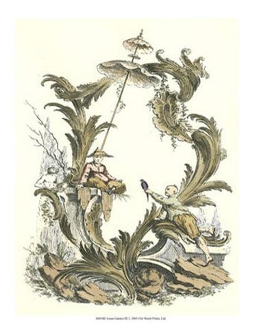 Giardino asiatico III Stampa artistica