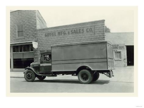 Giffel Sales Co. Art Print