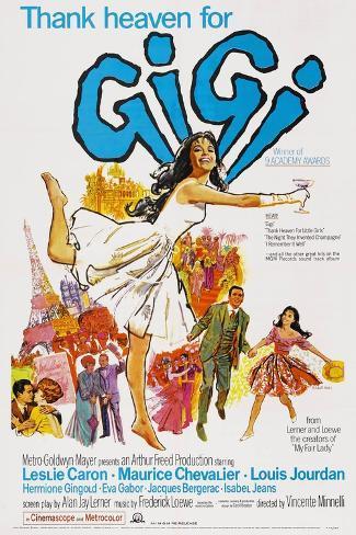 Gigi, 1958 Gicléetryck