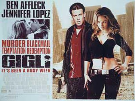 Gigli (Ben Affleck, Jennifer Lopez) Movie Poster Original Poster