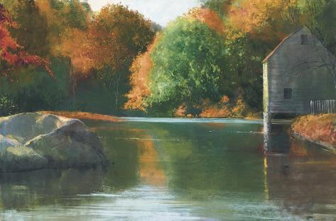 Cape Cod Mill Collectable Print