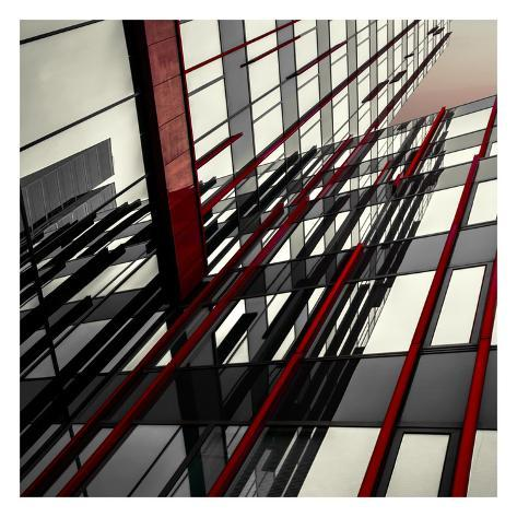 Red Lines Prints By Gilbert Claes