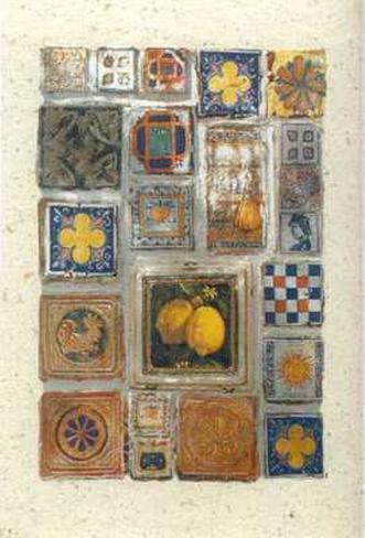 Decor au Citron Art Print