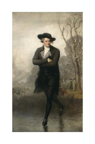 The Skater (Portrait of William Grant), 1782 Giclee Print