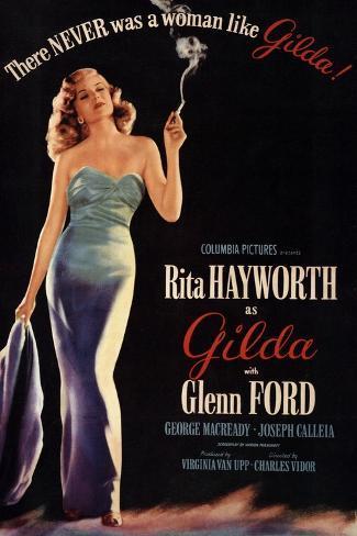 Gilda, 1946, Directed by Charles Vidor Giclee Print