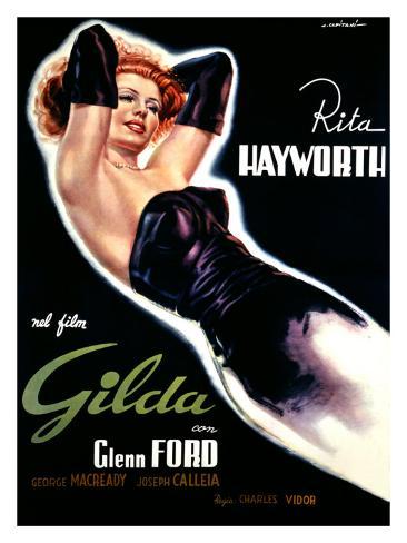 Gilda Giclee Print