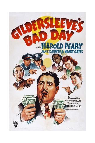 Gildersleeve's Bad Day Giclee Print