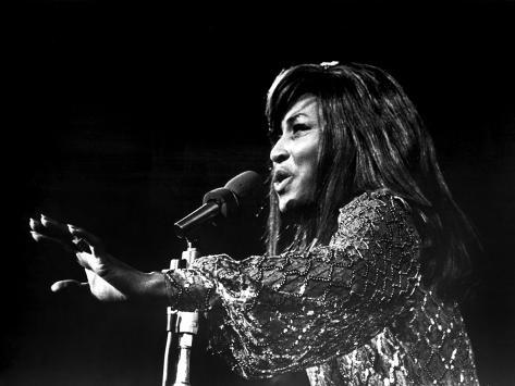 Gimme Shelter, Tina Turner, 1970 Photo