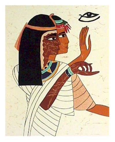 Egyptian Stampa da collezione