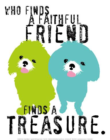 A Faithful Friend Art Print
