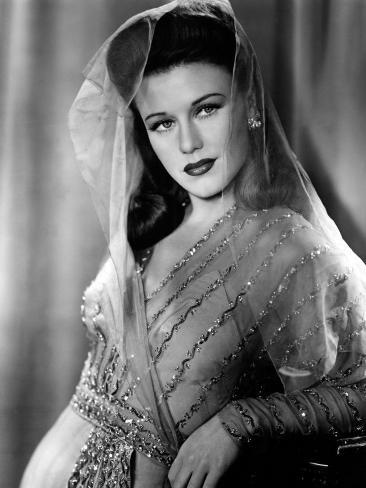 Ginger Rogers, in a Paramount Studio's Publicity Portrait, C.1942 Photo