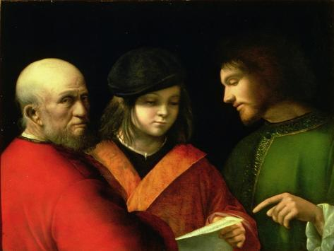 The Three Ages of Man, circa 1500-01 Giclee Print