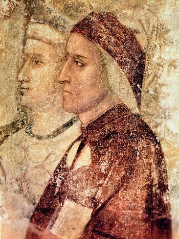 Paradise, Detail of Dante Alighieri (1265-1321) c.1336 Lámina giclée