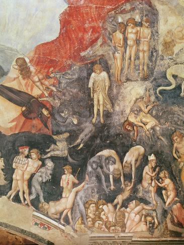 The Last Judgement, detail of the damned, 1303-05 Lámina giclée