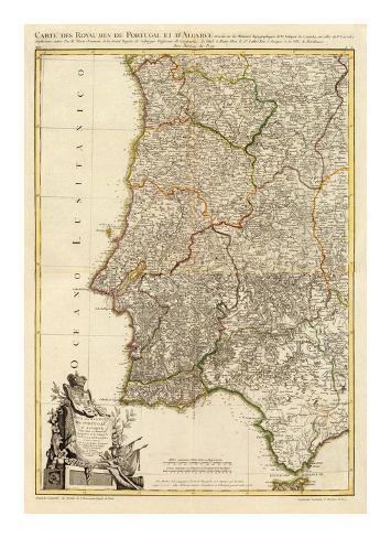 Composite: Portugal, Algarve, c.1780 Art Print