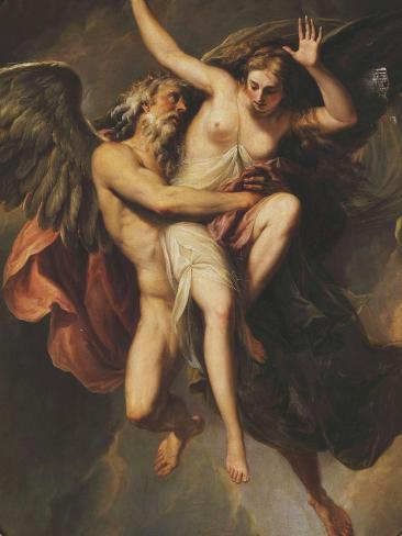 The Rape of Oreithyia Giclee Print