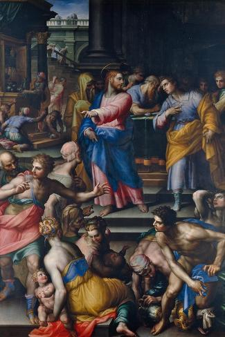The Calling of St Matthew Giclee Print