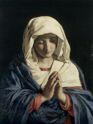 Madonna in Prayer Giclee Print