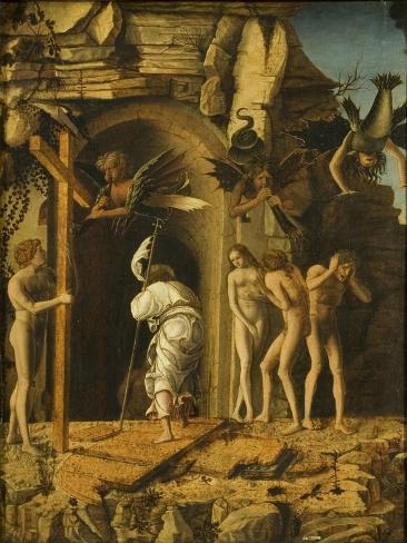 Christ's Descent into Limbo Lámina giclée