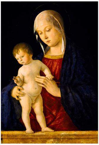 Giovanni Bellini Madonna and Child Art Print Poster Póster