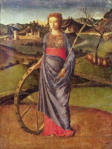 Saint Catherine Lámina giclée