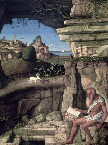 Saint Jerome Reading Giclee Print
