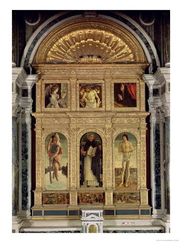 St. Vincent Ferrer Altarpiece, circa 1465 Giclee Print