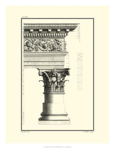 Column and Cornice IV Art Print
