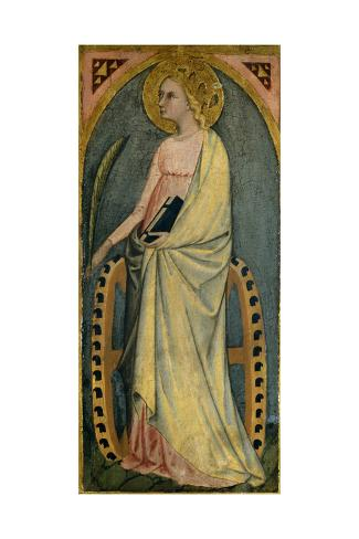 St. Katharine, C.1400 Giclee Print