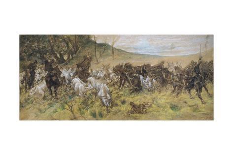 Fatal Encounter, 1900 Giclee Print