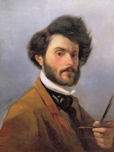 Self Portrait, 1854 Giclee Print