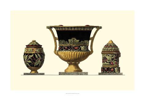 Urn Triad III Art Print