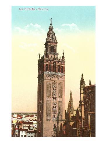 Giralda Tower, Seville, Spain Art Print