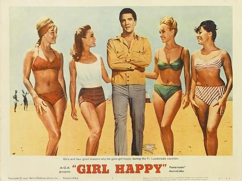 Girl Happy, 1965 Art Print