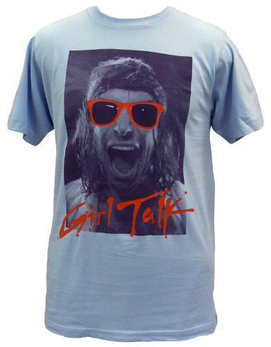 Girl talk camisetas