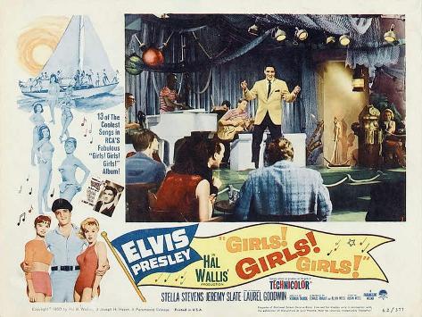 Girls! Girls! Girls!, 1962 Art Print