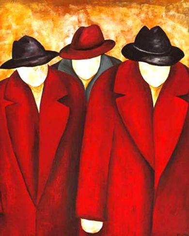 Three Wise Man I Art Print