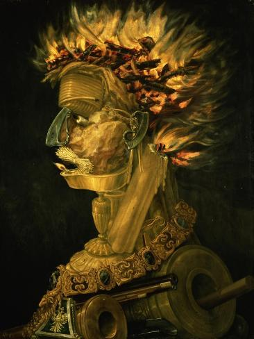 Fire, 1566 Giclee Print