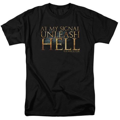 Gladiator - Unleash Hell T-Shirt