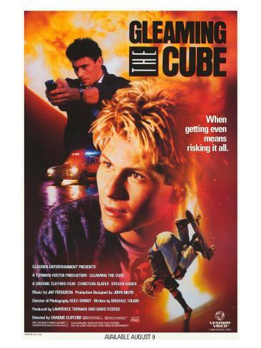 Gleaming the Cube, 1988 Stretched Canvas Print