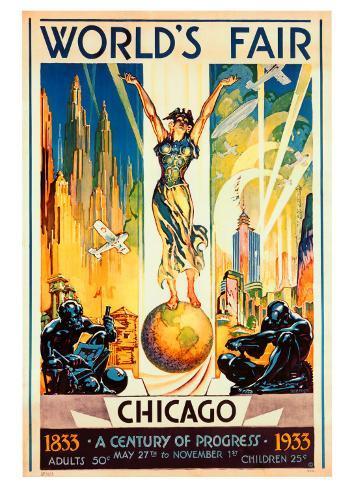World's Fair, Chicago, 1933 Giclee Print
