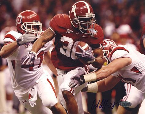 Glen Coffee Rush vs Utah Autographed Photo (Hand Signed Collectable) Photo