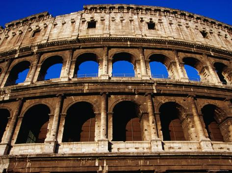 Colosseum, Rome's Most Famous Monument, Rome, Lazio, Italy Photographic Print