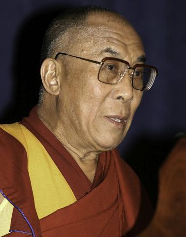Dalai Lama, in inglese Foto